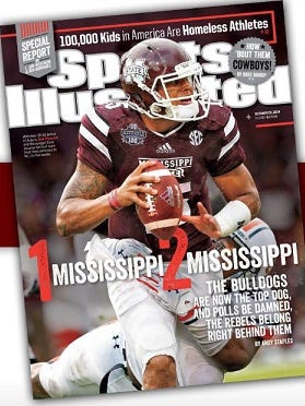 Dak Prescott, who's on the cover of this week's Sports Illustrated, says he will consider entering the NFL Draft after this season.