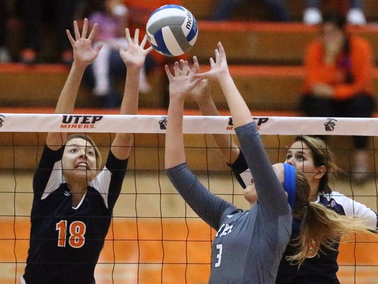 UTEP - RICE VOLLEYBALL 2