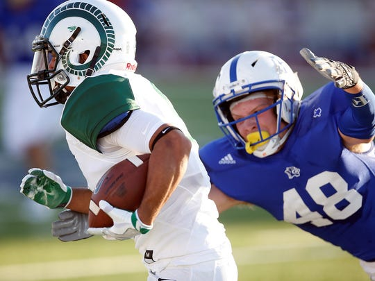Montwood lost 14-24 to Frenship on Friday in Lubbock.
