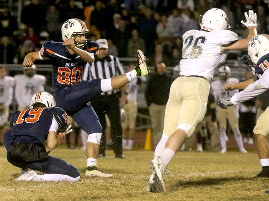 Blackman's Thomas Burks hit the game-winning 31-yard
