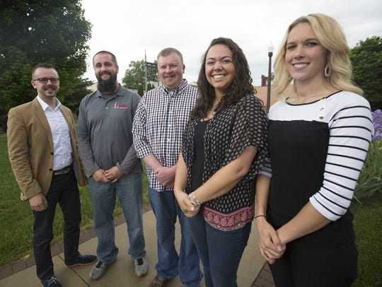 Members of the Current - Wisconsin Rapids young professionals