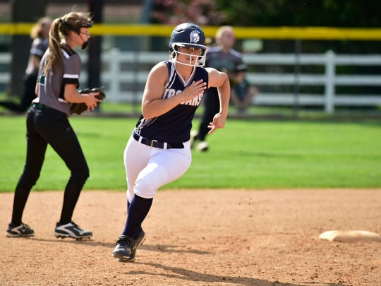 Chambersburg softball played Central Dauphin in the District 3-6A semifinals Wednesday, May 31, 2017 at Carlisle High School. The Trojans won 5-3