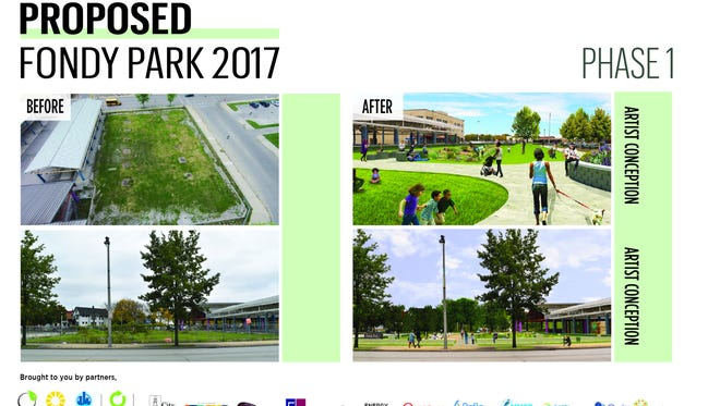 A new green space is planned for Milwaukee.