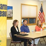 Young farmers share ag industry concerns with elected officials