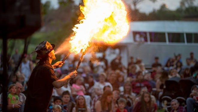 Redding Fire Festival