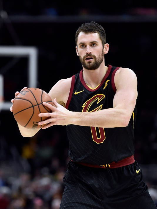 USP NBA: CHICAGO BULLS AT CLEVELAND CAVALIERS S BKN CLE CHI USA OH