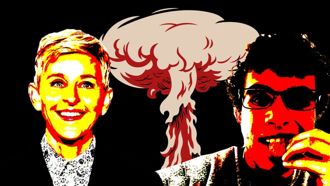 Ellen DeGeneres and Carter Wilkerson face off amid potential nuclear armageddon news in North Korea. But we all need a win right now.