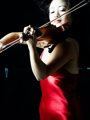 Violinist Chee-Yun will perform with the Springfield Symphony.