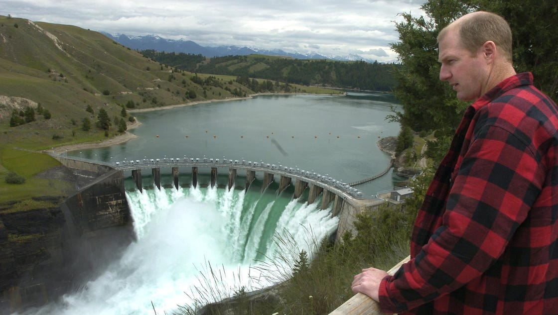 how to get to kerr dam