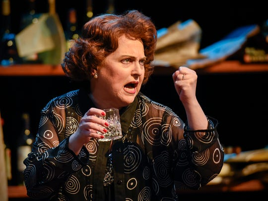 Martha, played by Karen Wiese-Thompson, yells at her