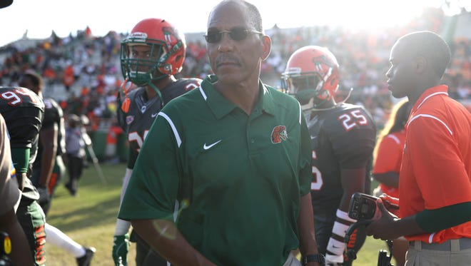 Florida A&M head coach Alex Wood said he looks at other factors, but at the end of the day, it's wins and losses that matter.