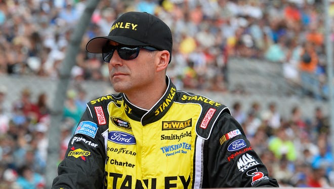 Marcos Ambrose punched Casey Mears in the face after Mears shoved Ambrose following the Toyota Owners 400 Saturday at Richmond International Raceway.