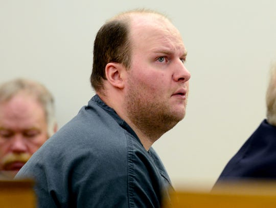 Matthew Webster appears in Vermont Superior Court in