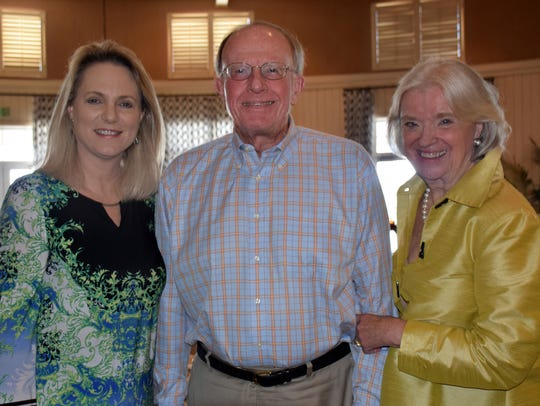 Quail Valley Charities representatives Martha Redner,