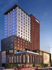 The Cambria Hotel & Suites is now open at  118 8th