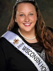 Lexi Gegare of Milton, Wisconsin was selected as the 2018 Wisconsin Honey Princess.