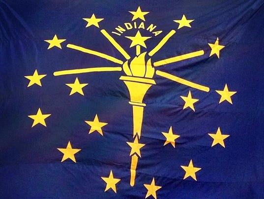 IndyStar stock statehouse stock indiana statehouse state flag -INDIANAFLAG.jpg_20150520.jpg