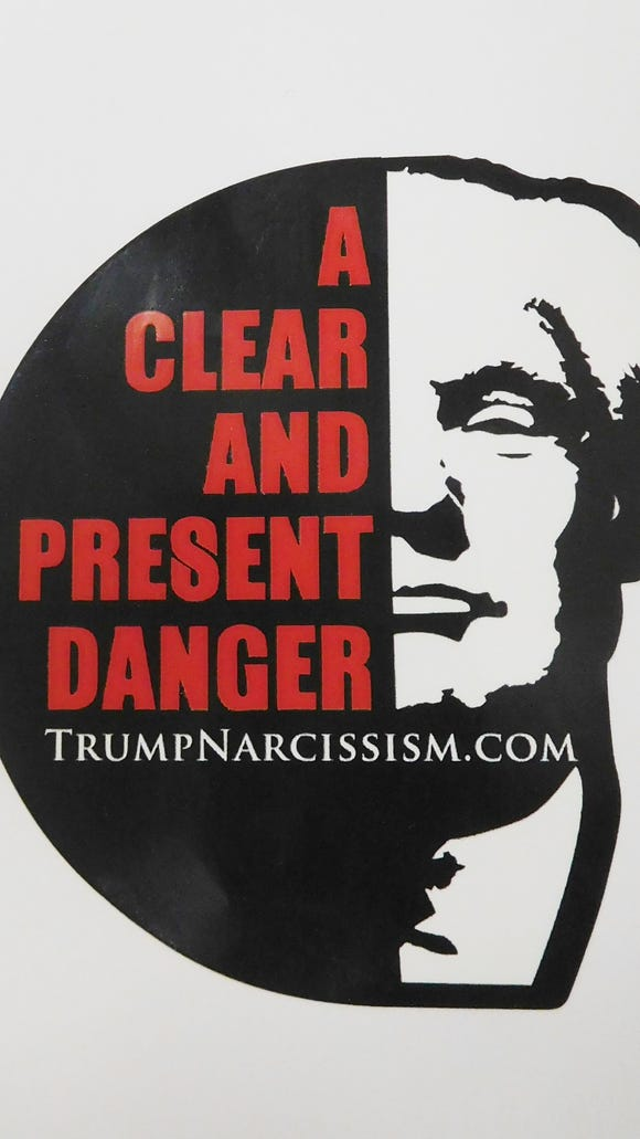 Publishers of a book on Donald Trump and narcissism