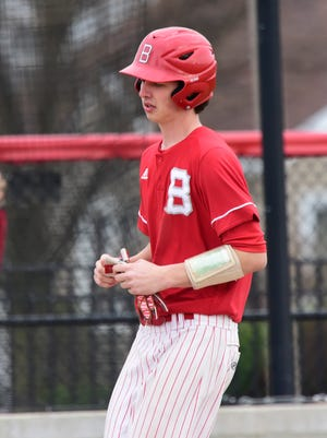 Bellevue's Cody Snyder often sticks to pitching and hitting, while others do the running.