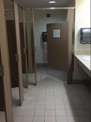 College of Medicine bathroom.