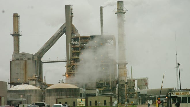 The site of the former International Paper mill in Pineville was purchased by a company that planned a 1,000-job complex centered on an aluminum plant.