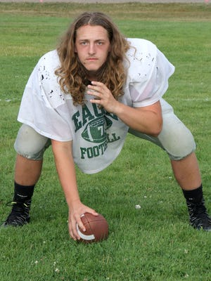 Collin Deutscher, a three-year starter who previously played tackle and guard, will slide over this year to be Klahowya's center.
