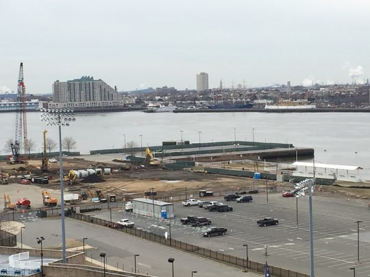The RCA Pier is to become a park adjacent to a planned $1 billion redevelopment project on Camden's Waterfront.