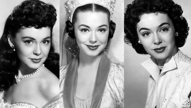 The many faces of Barbara Rush in Captain Lightfoot, The Black Shield of Falworth, and It Came from Outer Space