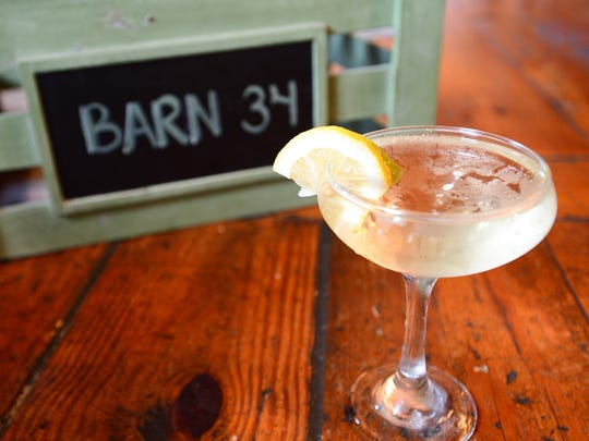 "Barn 34's ""Barn-tini"", located in Ocean City. Aug. 25, 2016"