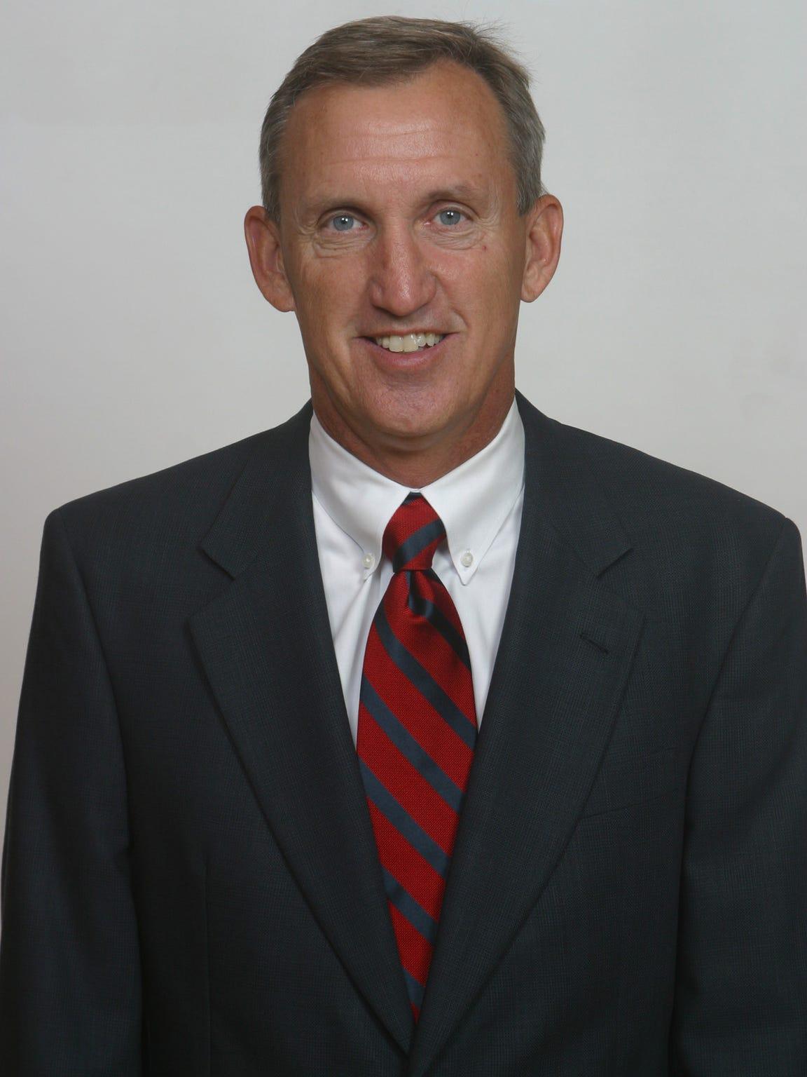 Belmont basketball coach Rick Byrd.