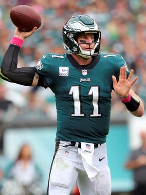 The Philadelphia Eagles have provided Carson Wentz with some offensive help through the 2019 NFL draft.