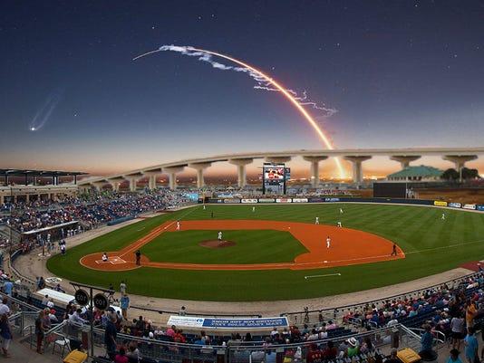 Titusville stadium concept