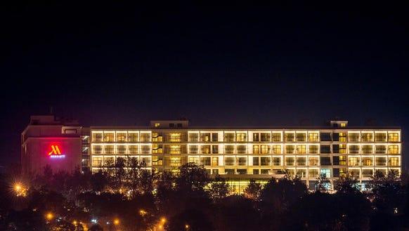 The Kigali Marriott is Marriott International's first