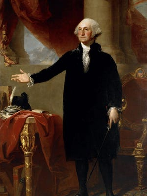 George Washington reportedly never wore wooden teeth, though his dentures were very uncomfortable.