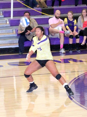 Ashley Mataele is a defensive specialist for the Lady Mustangs and will help dig her way to helping Western with a few games on the road.