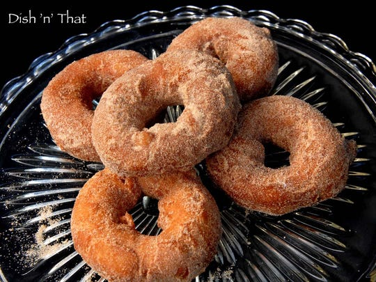 Spiced Apple Cider Doughnuts are a taste of fall.