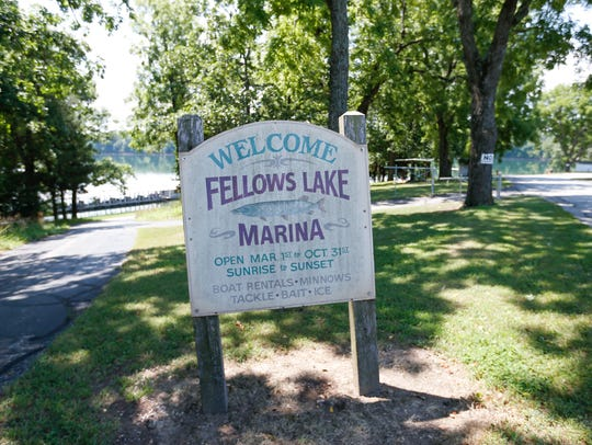 Fellow Lake Marina on Wednesday, June 11, 2018.