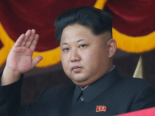 In this Oct. 10, 2015, file photo, North Korean leader