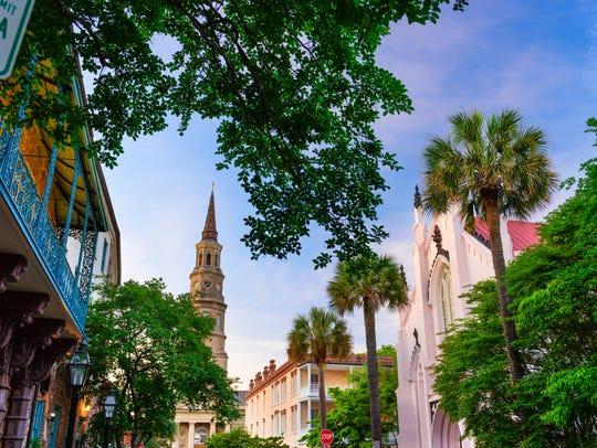 Charleston has great restaurants.
