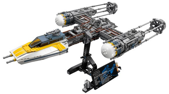 Lego is selling a collector's series Y-wing Starfighter