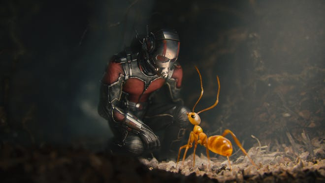 "Scott Lang (Paul Rudd) gets to see a new microscopic side of the Marvel Cinematic Universe in ""Ant-Man."""