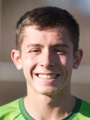 Matt Wenzel of Howell High School earned the title tennis player of the year.