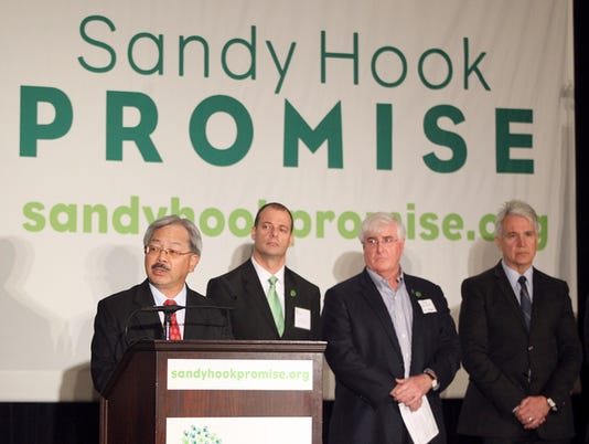 SANDY HOOK PROMISE NEWS CONFERENCE SAN FRANCISCO