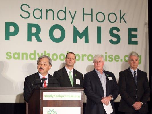 SANDY HOOK PROMISE NEWS CONFERENCE SAN FRANCISCO