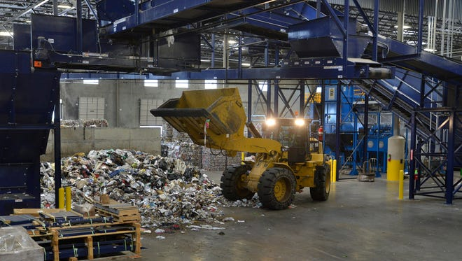 A visit t the IREP Materials Recovery Facility on June 11, 2014.