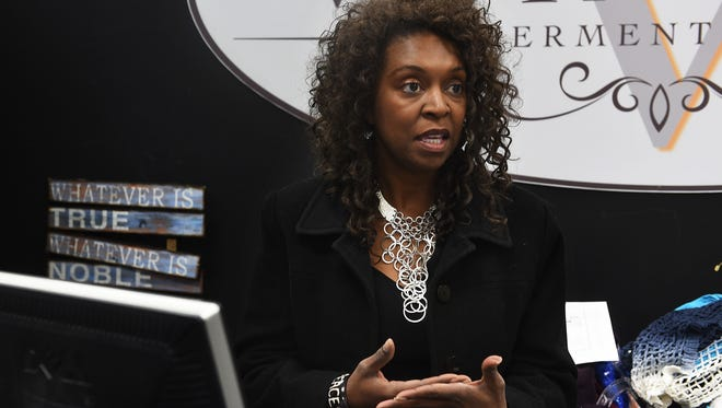 Verita Black-Prothro speaks to the RGJ about her voting experience at the Reno Town Mall on Nov. 1, 2016.