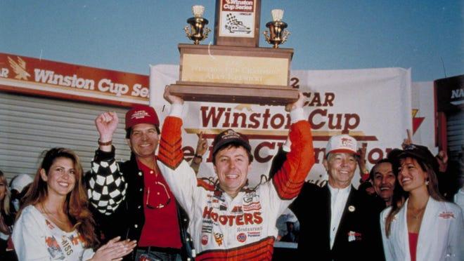 Alan Kulwicki won the Winston Cup in 1992.