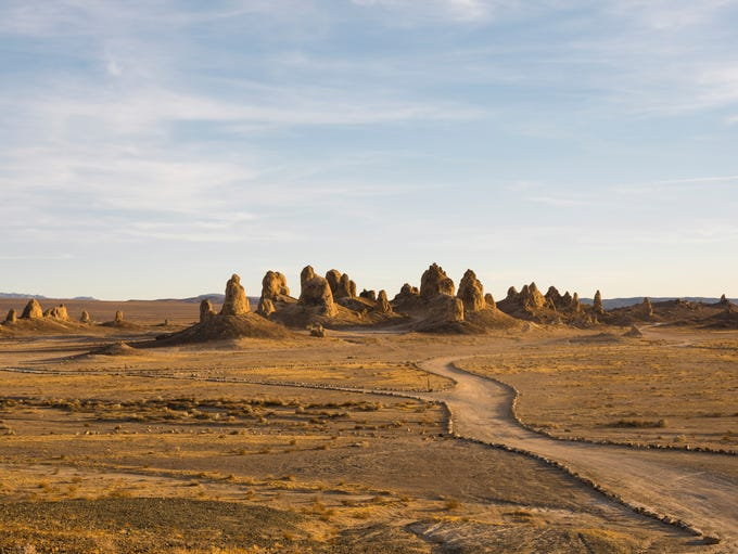 The Trona Pinnacles are an otherworldly geological