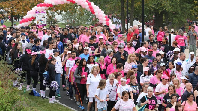 The 25th annual American Cancer Society Making Strides Against Breast Cancer Walk at Manhattanville College will be held Sunday, Oct. 21.
