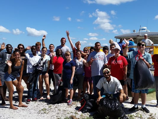 NFMHS Group Photo Picnic Island Cleanup.jpg